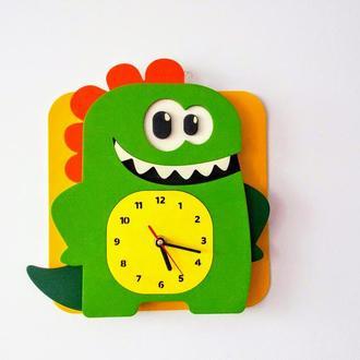 "Детские часы-декор ""Діно"""