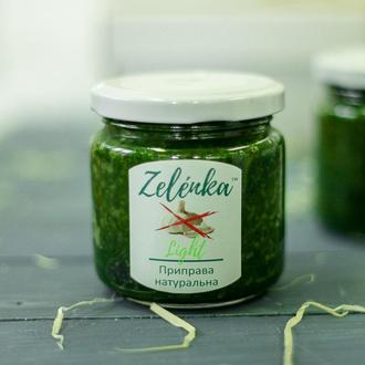 Zelénka Light (без часнику) приправа зі свіжої зелені