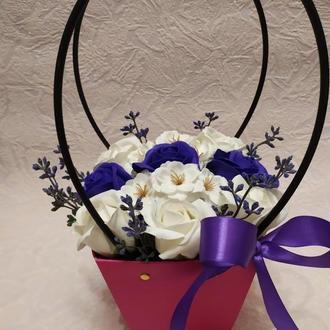 Букеты цветов из мыла
