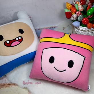 Мягкая игрушка - Подушка Принцесса Бубльгум, Время приключений