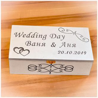 Свадебный сундук, банк семьи, весільна скриня.