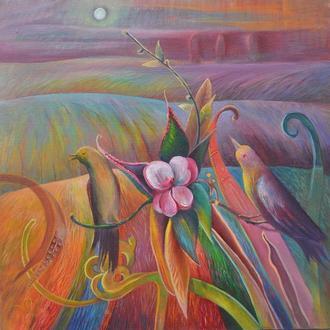 """Картина """"Пісня ночі над полями"""""""