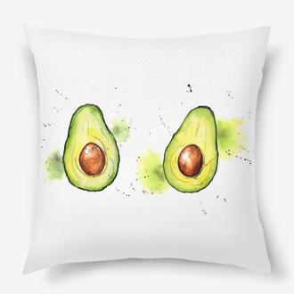 Подушка - авокадо Киев, декоративная подушка - авокадо Днепр, авокадо - подушка Львов
