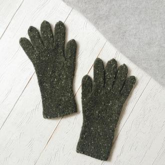 Твидовые перчатки
