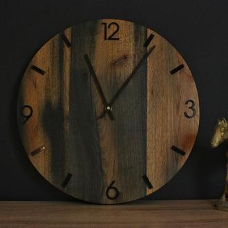 Часы в стиле лофт. Лофт часы. Настенные часы с историей. Многовековые часы.