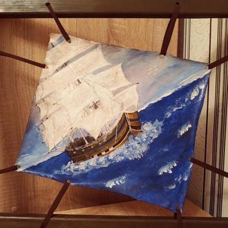 """Картина """"Корабель у морі"""""""