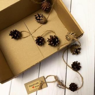 Еко декор, новорічний декор, гірлянда, подарунки на Новий рік