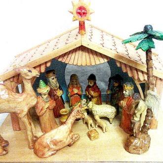Вертеп, Різдвяна шопка