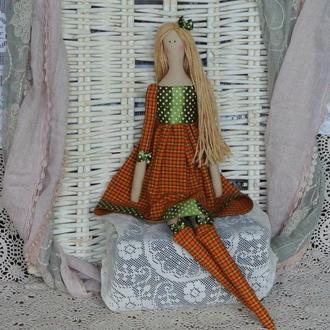 Кукла в стиле Тильда Морис 48см