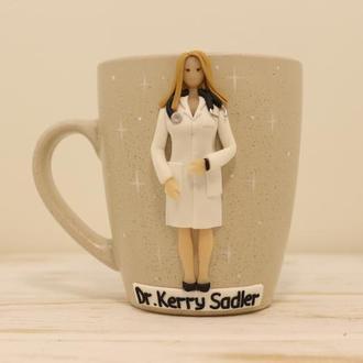 Стоматолог, Доктор, Врач, Подарок доктору, Подарунок лікарю, Надписи на чашках, Чашка врача,