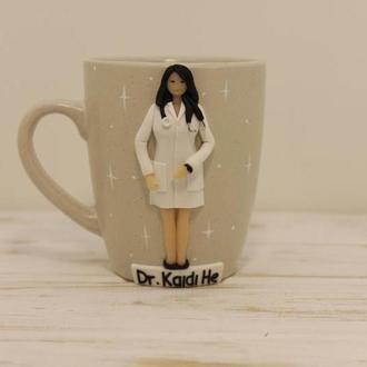 Чашка Медсестра, Доктор, Врач, Подарок доктору, Подарунок лікарю, Чашка лікаря, Чашка врача