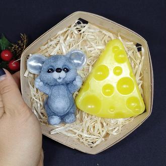 Набор мыла мышь и сыр