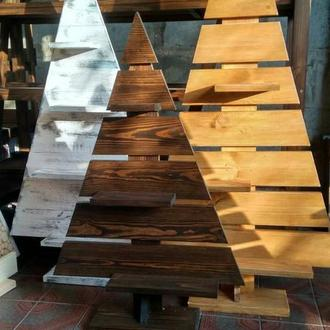 Елка из дерева, деревянная елка
