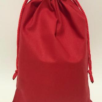 Мешок хлопок, экомешок для вещей и продуктов, еко торбинка, екоторбинка, мешок для подарков