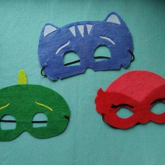 Фетровая маска PJMasks