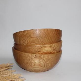 Мисочки з дерева для салату