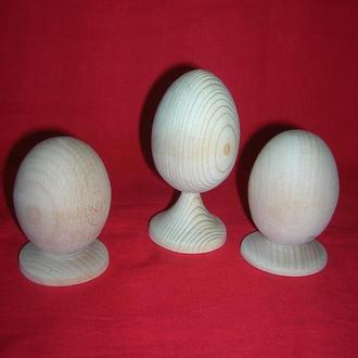 Заговка яйцо деревянное