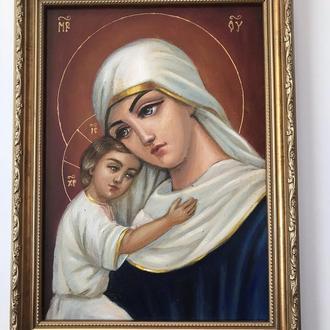 """Картина, икона, образ """"Богородица"""""""