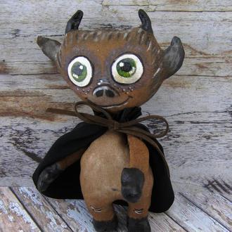 Текстильная игрушка Чертик