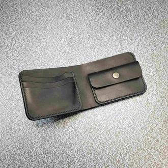 Бумажник Stedley Орсо кожаный черный