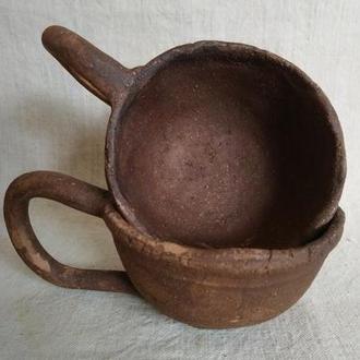 пара горнят для кави