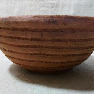 тарелка керамическая из шамота