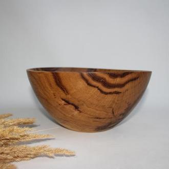 Декоративна миска з дерева, фруктовниця