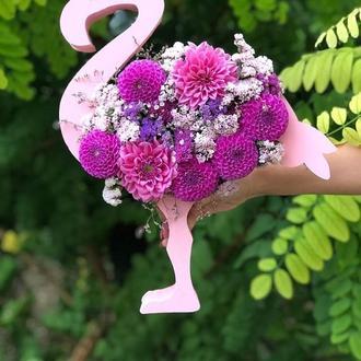 Пенобокс Фламинго, ящик для цветов
