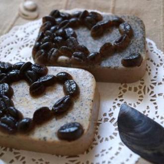 Кофейное мыло скраб мыло с натуральным молотым кофе