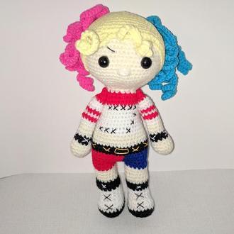 Вязаная кукла Харли Квинн