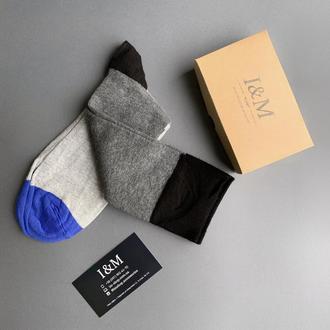 Носки I&M Craft в полоску (070282)