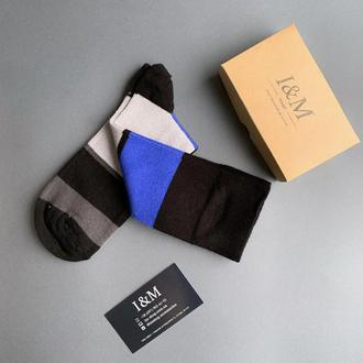 Носки I&M Craft в полоску (070284)