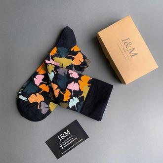 Носки I&M Craft цветные с принтом (070293)