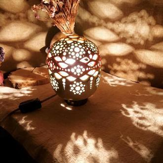 """Керамический светильник """"Индия"""""""