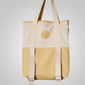 Еко-сумка для йога килимка Foyo Flow Cream
