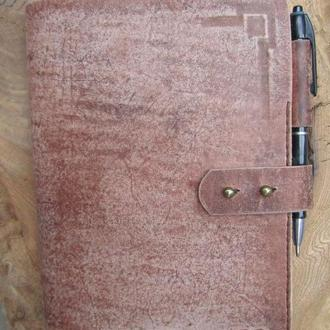 Кожаные обложки на ежедневник Обложки для блокнотов Обложки для ежедневника из кожи ПОДАРОК