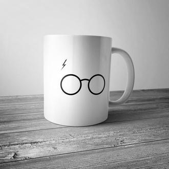 """Чашка с принтом """"Гарри Поттер"""""""