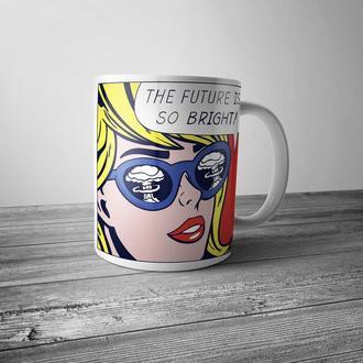 """Чашка с принтом """"Pop Art"""""""