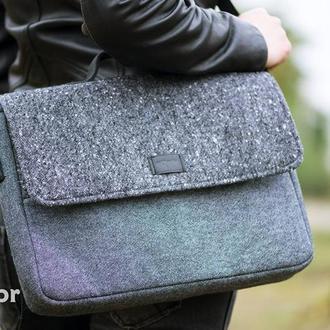 Сумка Grey для MacBook 13'' и аналогов