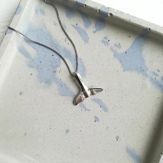 Серебряная подвеска Хвост кита от FIBULA