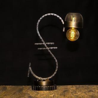 Лампа в стиле лофт. Гривна