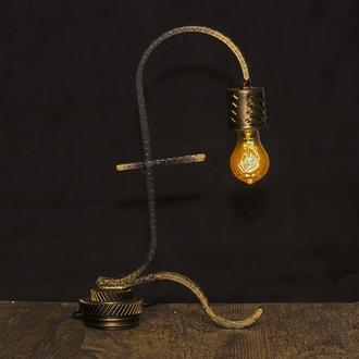 Лампа в стиле лофт. Фунт