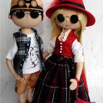 Портретная кукла, Кукла по фотографии, Тильда