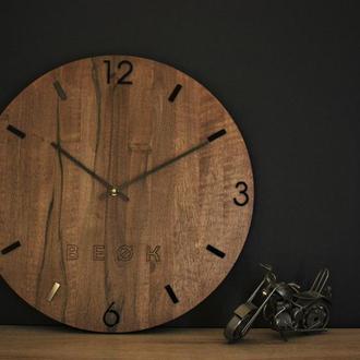 Большие часы. Часы настенные. Дизайнерские часы из дерева. Деревянные часы