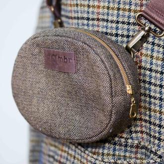 Жіноча сумочка Brown Tweed
