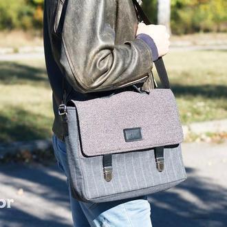 Портфель для ноутбука 15'' Grey Recycled