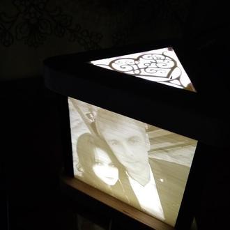Ночник светильник с вашими фото