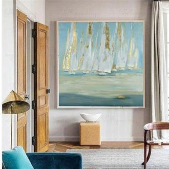 Картина Золотые паруса