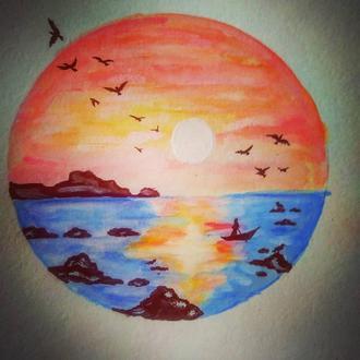 Вечер и море