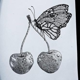 Вишнёвая бабочка